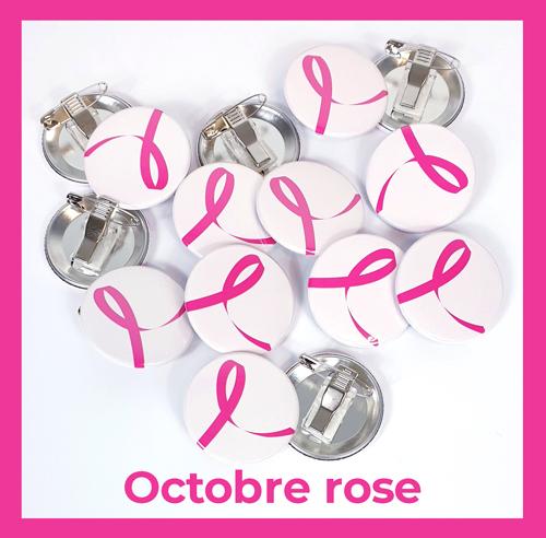 Goodies pour octobre rose